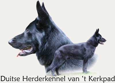 Duitse Herder Kennel van het Kerkpad Logo